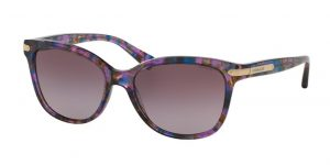 A photo of floral style sunglasses.