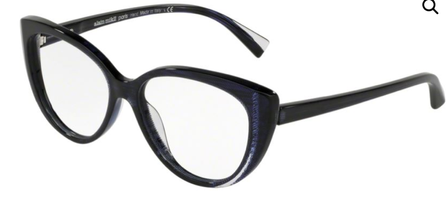 A pair of chunky black glasses similar . to the type Velma Dinkley wore.