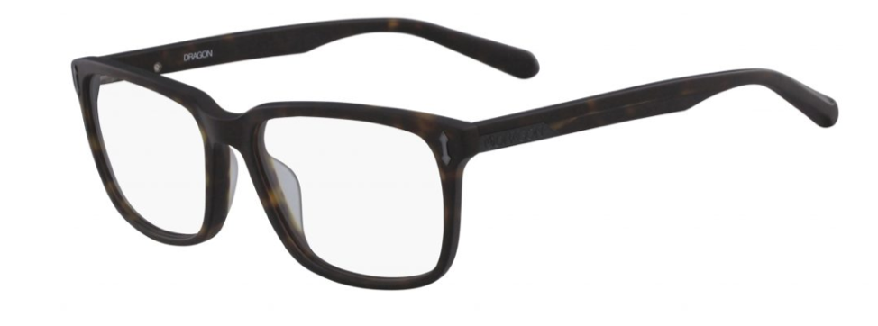 A pair of square framed glasses similar to the type Clark Kent wore.