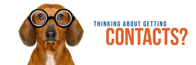 Thinking about contacts?